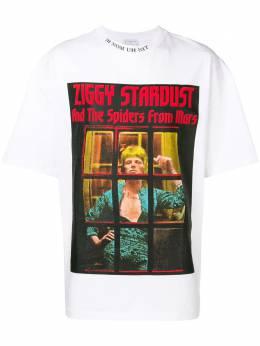 Ih Nom Uh Nit футболка с принтом 'Ziggy Stardust' NUS19290