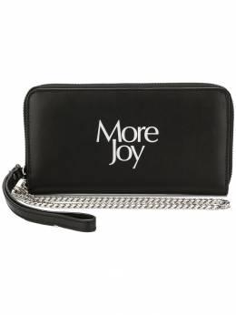 Christopher Kane кошелек 'More Joy' CFWWA002100LEATHERBLACKWHITETEXT