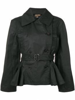 Jean Paul Gaultier Pre-Owned облегающая куртка с поясом GAU450D