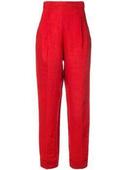 Romeo Gigli Pre-Owned брюки с завышенной талией и складками GIG180AE