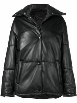 Manokhi дутая куртка с подолом на шнурке MANO217A666JACKET