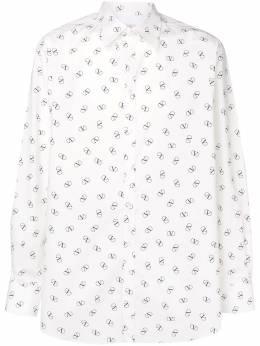 Valentino рубашка с логотипом RV0ABA95ECJ