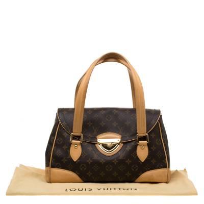 Louis Vuitton Monogram Canvas Beverly GM Bag 184035 - 9