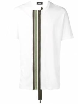Dsquared2 футболка с молнией S71GD0791S22507
