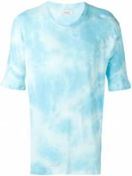 Laneus футболка с принтом тай-дай 90431