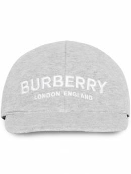 Burberry Kids бейсбольная кепка с вышитым логотипом 8010947