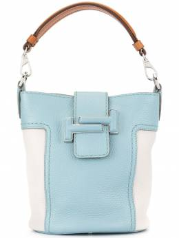 Tod's сумка-ведро с логотипом Double T XBWDOTK0100KCT3Q01