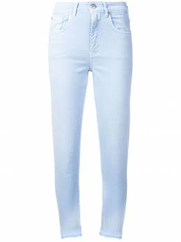 Closed джинсы кроя слим с бахромой C9140407THM