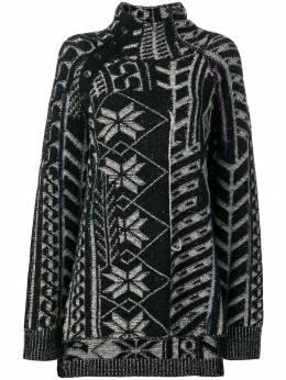 Yohji Yamamoto декорированный свитер FVK10193