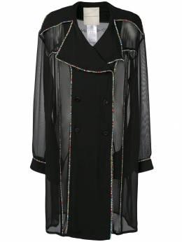 Marco De Vincenzo платье-блейзер с декором MF5155A7JFF0BHU