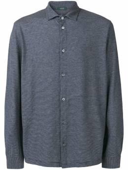 Zanone классическая рубашка 81M006ZW376