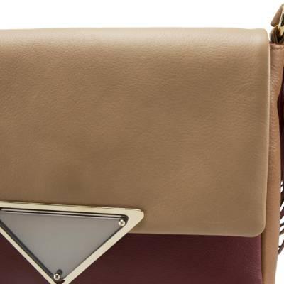 Sara Battaglia Multicolor Leather Teresa Fringe Shoulder Bag - 4