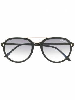 Tom Ford Eyewear солнцезащитные очки-авиаторы FT0674S