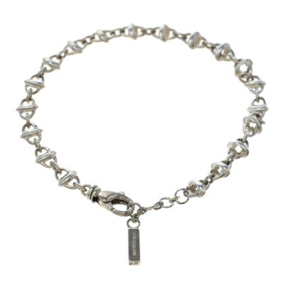 Montblanc Icon Link Motif Silver Chain Bracelet 186483 - 2