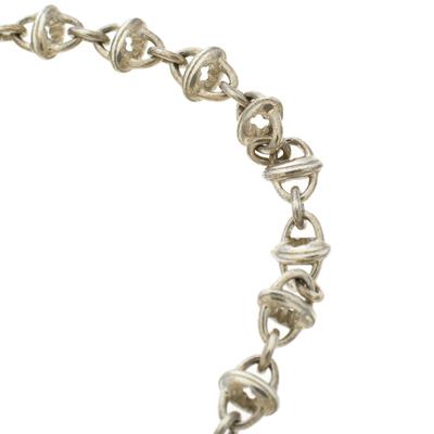 Montblanc Icon Link Motif Silver Chain Bracelet 186483 - 3