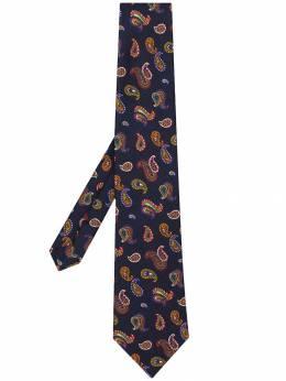 Etro галстук с принтом пейсли 120265005