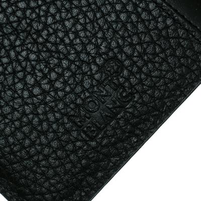 Montblanc Black Leather Flipside iPhone 8 Case 195629 - 6