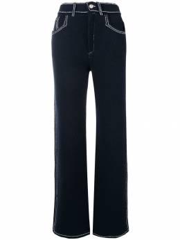 Barrie расклешенные брюки с декоративной строчкой C85645