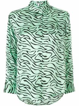 Olivia Rubin рубашка с зебровым принтом OR0082