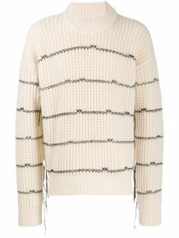 Laneus свитер в полоску MGU310