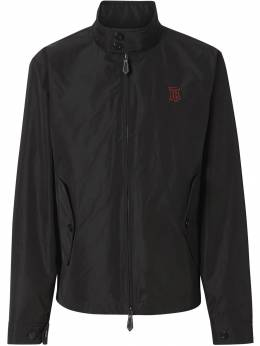 Burberry куртка из тафты с монограммой 8014366