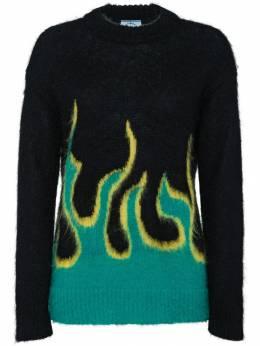 Prada свитер с узором интарсия P24I0AS1821SIQ