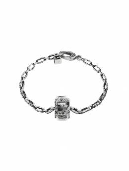 Gucci Bracelet with Square G cube in silver 550888J7452