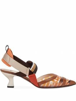 Fendi туфли Colibrì с ремешком на пятке 8J6934A83E