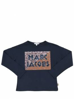 Футболка Из Хлопкового Джерси Little Marc Jacobs 70IFGD074-ODQ50