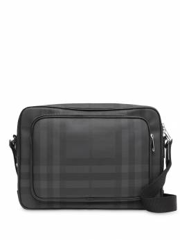 Burberry сумка-мессенджер в клетку London Check 8013987