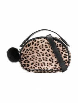 Monnalisa - клатч с леопардовым принтом 66556569503999600000