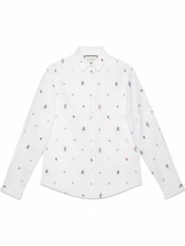 Gucci рубашка с вышивкой 501897Z364F