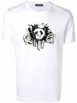 Dolce&Gabbana футболка Panda King G8IV0TG7QZB