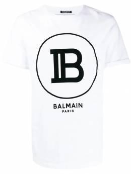 Balmain футболка с логотипом SH01135I207