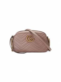 Gucci маленькая сумка на плечо 'GG Marmont' 447632DTD1T