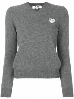 Comme Des Garcons Play свитер с логотипом P1N059