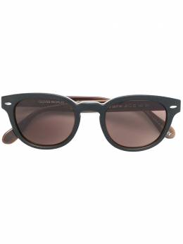 Oliver Peoples солнцезащитные очки 'Sheldrake Leather' OV5036SQ