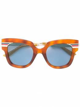 Gucci Eyewear солнцезащитные очки в стиле оверсайз GG0281S