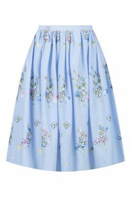Расклешенная юбка с вышивкой Blugirl 1916144408