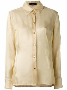 Jean Louis Scherrer Pre-Owned классическая рубашка SCH120ER