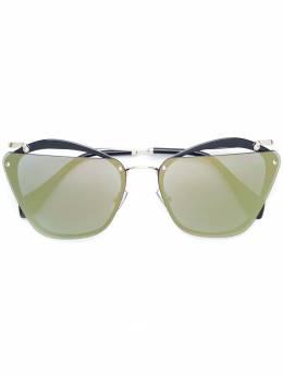 Miu Miu Eyewear солнцезащитные очки 'Evolution' SMU54T