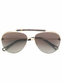 Chloe Eyewear солнцезащитные очки-авиаторы CHLSCE141SP75959