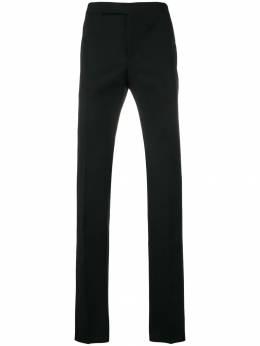 Saint Laurent приталенные брюки строгого кроя 504614Y399W
