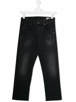 Diesel Kids декорированные джинсы скинни 00J46FKXB18