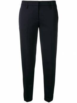 Aspesi укороченные брюки строгого кроя G0103E761