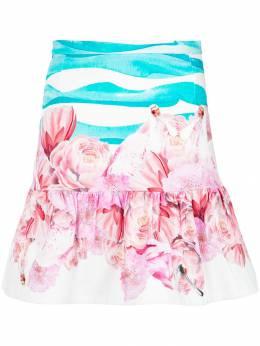 Isolda printed skirt 2SBK1810