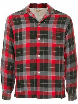 Fake Alpha Vintage рубашка в клетку в стиле 1960-х LS0031