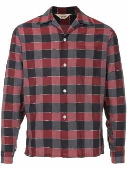 Fake Alpha Vintage рубашка в стиле 1950-х 'Rockabilly' LS0033