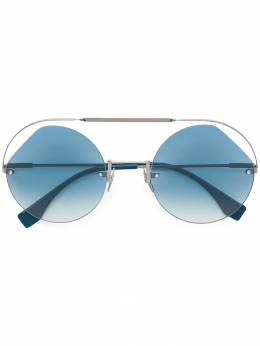 Fendi Eyewear солнцезащитные очки 'Ribbons & Crystals' FF0325PJP56G5