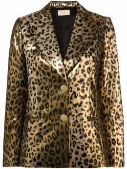 Sara Battaglia блейзер с леопардовым принтом SB6005315S9